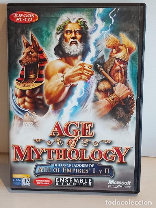 Videojuegos y Consolas: AGE OF MYTHOLOGY / COMPLETO / PC.CD-ROM / 2 DISCOS / MUY BUENA CALIDAD. OCASIÓN ! - Foto 2 - 237303755