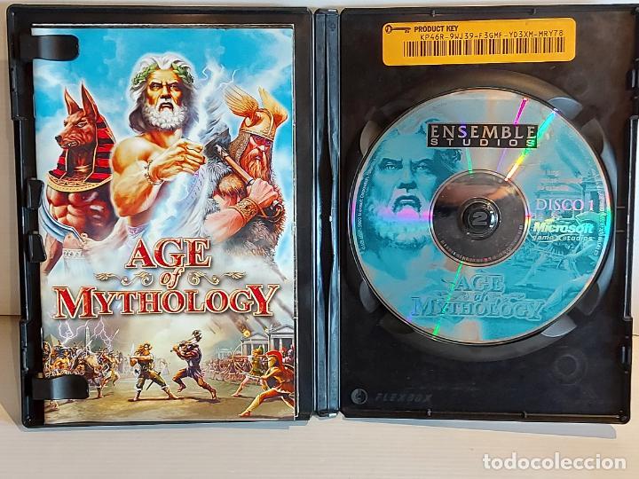 Videojuegos y Consolas: AGE OF MYTHOLOGY / COMPLETO / PC.CD-ROM / 2 DISCOS / MUY BUENA CALIDAD. OCASIÓN ! - Foto 3 - 237303755