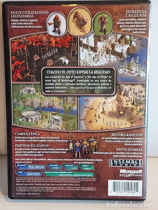 Videojuegos y Consolas: AGE OF MYTHOLOGY / COMPLETO / PC.CD-ROM / 2 DISCOS / MUY BUENA CALIDAD. OCASIÓN ! - Foto 4 - 237303755
