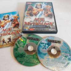 Videojuegos y Consolas: AGE OF MYTHOLOGY / COMPLETO / PC.CD-ROM / 2 DISCOS / MUY BUENA CALIDAD. OCASIÓN !. Lote 237303755