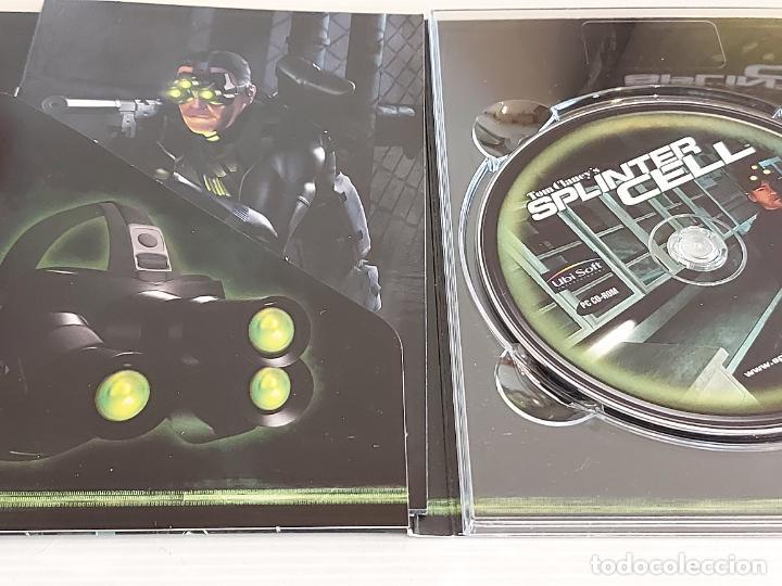 Videojuegos y Consolas: SPLINTER CELL / PC.CD-ROM / COMPLETO 3 DISCOS / MUY BUENA CALIDAD. OCASIÓN ! - Foto 3 - 237304575