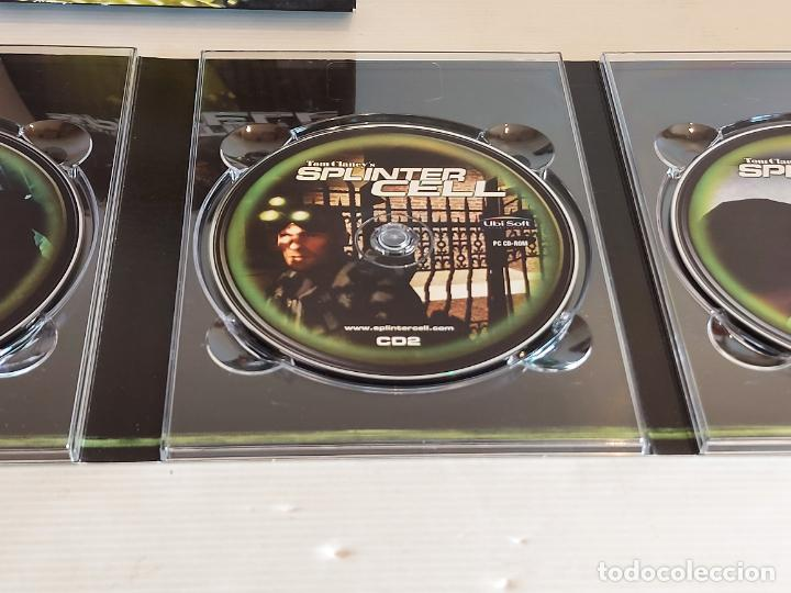 Videojuegos y Consolas: SPLINTER CELL / PC.CD-ROM / COMPLETO 3 DISCOS / MUY BUENA CALIDAD. OCASIÓN ! - Foto 4 - 237304575