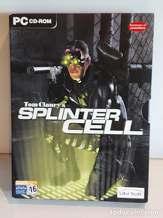 SPLINTER CELL / PC.CD-ROM / COMPLETO 3 DISCOS / MUY BUENA CALIDAD. OCASIÓN ! (Juguetes - Videojuegos y Consolas - PC)
