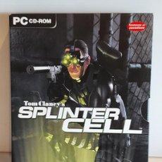 Videojuegos y Consolas: SPLINTER CELL / PC.CD-ROM / COMPLETO 3 DISCOS / MUY BUENA CALIDAD. OCASIÓN !. Lote 237304575