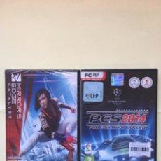 Videojuegos y Consolas: MIRRORS EDGE CATALYST + PES 2014 - PC. Lote 238733490