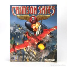 Videojuegos y Consolas: CRIMSON SKIES INCOMPLETO MICROSOFT EDICION ESPAÑOLA AÑO 2000. ARCADE FLIGHT SIMULATOR IBM PC CD ROM. Lote 238780585