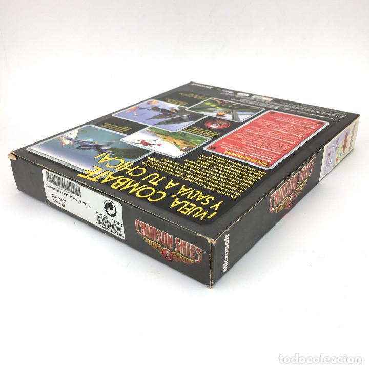Videojuegos y Consolas: CRIMSON SKIES Incompleto MICROSOFT EDICION ESPAÑOLA AÑO 2000. ARCADE FLIGHT SIMULATOR IBM PC CD ROM - Foto 3 - 238780585