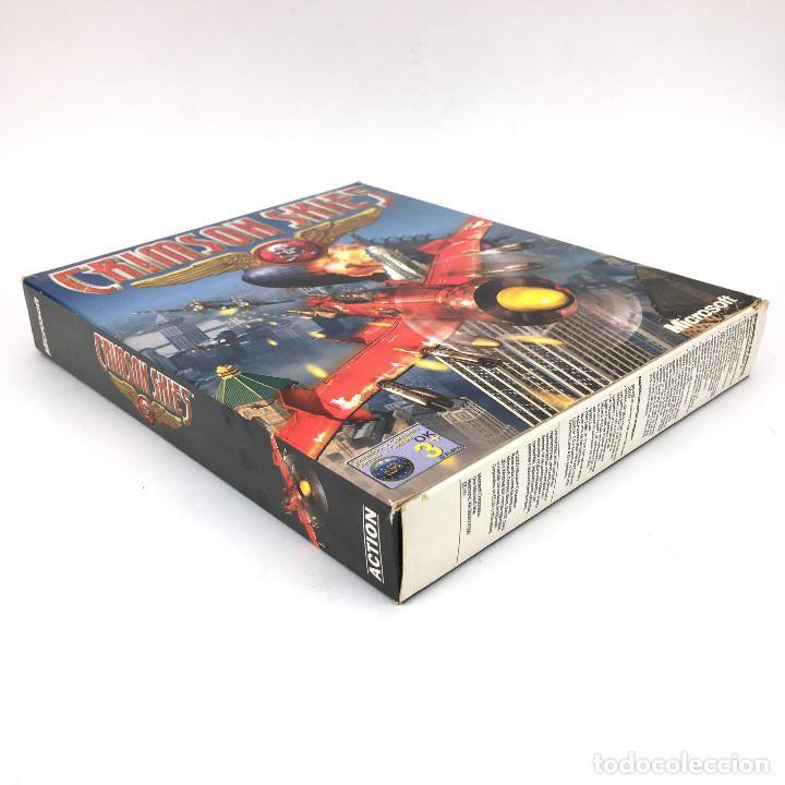 Videojuegos y Consolas: CRIMSON SKIES Incompleto MICROSOFT EDICION ESPAÑOLA AÑO 2000. ARCADE FLIGHT SIMULATOR IBM PC CD ROM - Foto 4 - 238780585