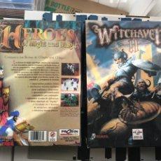 Videojogos e Consolas: CAJA VACIA PC BIG BOX WITHAVEN II HEROES OF MIGHT AND MAGIC I KREATEN. Lote 240890950