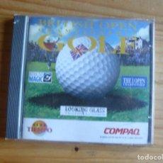 Videojuegos y Consolas: JUEGO PC: GOLF BRITISH OPEN. Lote 241199465