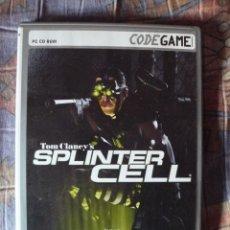 Videojuegos y Consolas: JUEGO PC: TOM CLANCY, SPLINTER CELL. Lote 241199660
