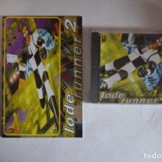 Videojuegos y Consolas: JUEGO PC LODE RUNNER 2 FRIENDWARE GT INTERACTIVE SOFTWARE 1999 PLATAFORMAS INCLUYE MANUAL CAJA CD. Lote 241897040