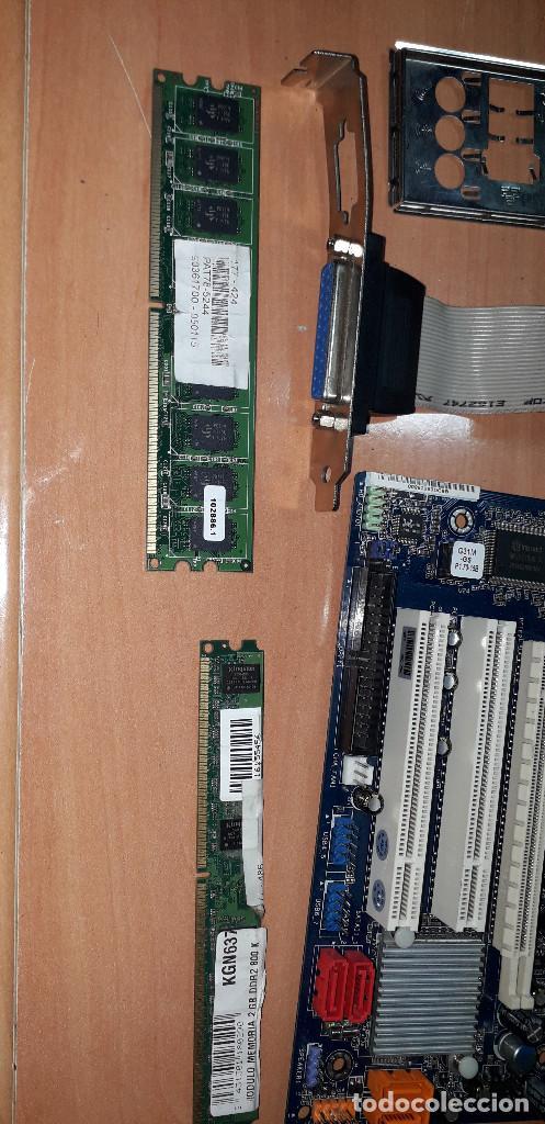 Videojuegos y Consolas: 03-00182-placa ASROCK +micro DUAL CORE-memoria 4 GB DDR2 - Foto 3 - 243065830