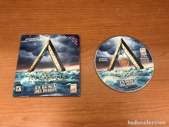 JUEGO PC 1997 DISNEY ATLANTIS EL IMPERIO PERDIDO WINDOWS 96/97 (Juguetes - Videojuegos y Consolas - PC)