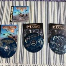 Videojogos e Consolas: IK12. JUEGO STAR WARS PC BEHIND THE MAGIC / ROGUE SQUADRON 3D. Lote 243767685