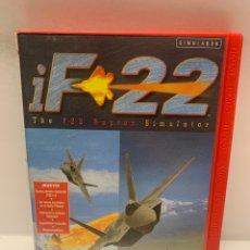 Jeux Vidéo et Consoles: PC 738 IF 22 RAPTOR JUEGOS PC SEGUNDA MANO. Lote 243800610