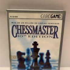 Videogiochi e Consoli: PC 813 CHESSMASTER 10 EDITION JUEGOS PC SEGUNDA MANO. Lote 243977050