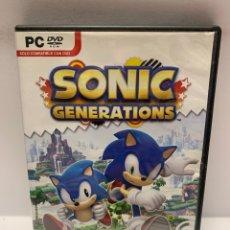 Jeux Vidéo et Consoles: PC 846 SONIC GENERATIONS JUEGOS PC SEGUNDA MANO. Lote 243988590