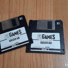 Videojuegos y Consolas: SOCCER KID ( DISCO 1 Y 3 ) -- PC GAMES -- JUEGOS ORIGINALES, 3,5 PULGADAS -- DISKETTE. Lote 243990185