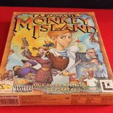 Videojuegos y Consolas: CAJA CD-ROOM VACIA DEL JUEGO LA FUGA DE MONKEY ISLAND 3 D. Lote 243995170