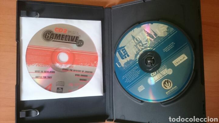 Videojuegos y Consolas: CD juegos y Demos revista Game Live número 43, 2 CDs Ubi soft - Foto 3 - 244014410