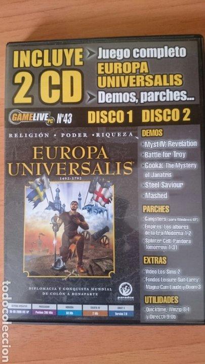 CD JUEGOS Y DEMOS REVISTA GAME LIVE NÚMERO 43, 2 CDS UBI SOFT (Juguetes - Videojuegos y Consolas - PC)