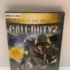 Jeux Vidéo et Consoles: PC 884 CALL OF DUTY 2 JUEGOS PC SEGUNDA MANO. Lote 244482695