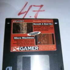 Videojuegos y Consolas: ANTIGUO CARTUCHO PC GAMER CON JUEGOS - 1993. Lote 244640955