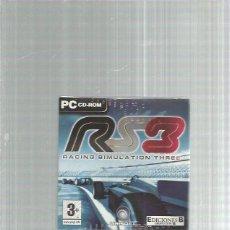 Videojuegos y Consolas: PC RACING SIMULATION THREE. Lote 244663185