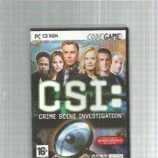 Videojuegos y Consolas: PC CSI. Lote 244664575