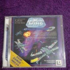 Videojuegos y Consolas: STAR WARS XWING CD-ROM PC ERBE LUCAS ARTS SIMULADOR 1996. Lote 244709670