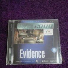 Videojuegos y Consolas: EVIDENCE Nº 10 LA COLECCIÓN DE VIDEOJUEGOS 2000 EDICIÓN ESPECIAL PC CD-ROM. Lote 244713735