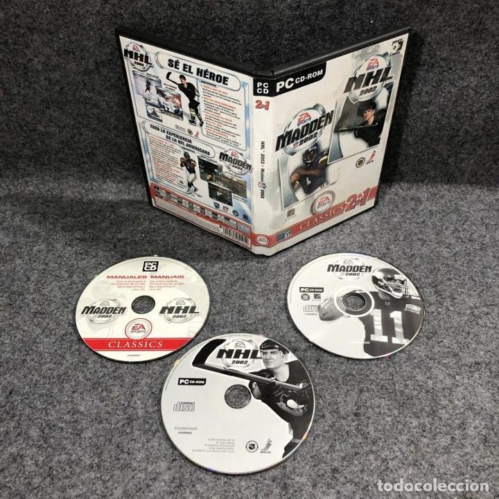 NHL 2002+MADDEN 2002 PC (Juguetes - Videojuegos y Consolas - PC)