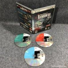 Videojuegos y Consolas: TOM CLANCYS RAINBOW SIX PACK PC. Lote 244837900
