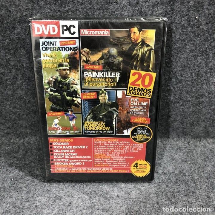 DVD PC MICROMANIA 20 DEMOS JUGABLES NUEVO PRECINTADO PC (Juguetes - Videojuegos y Consolas - PC)