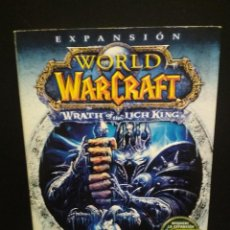 Videojuegos y Consolas: WORLD OF WARCRAFT EXPANSION WRATH OF THE LICH KING -PC DVD-ROM PEPETO. Lote 244975165