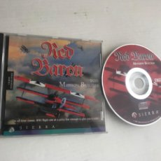 Videojuegos y Consolas: RED BARON WITH MISSION BUILDER SIERRA PC CD ROM KREATEN. Lote 245058890