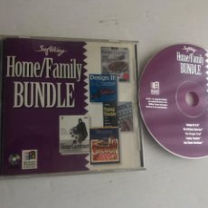 Videojuegos y Consolas: SOFTKEY HOME FAMILY BUNDLE OREGON TRAIL GARDENER TYPING TEACHER DESIGN IT 3D PC CD ROM KREATEN. Lote 245060955