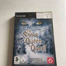 Videojuegos y Consolas: THE SNOW QUEEN QUEST. Lote 245219780