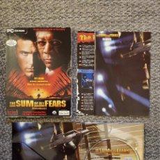 Videojuegos y Consolas: JUEGO PC DVD-ROM SUM OF ALL FEARS PANICO NUCLEAR CASTELLANO 2002 SPA. Lote 245434250