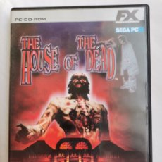 Videojuegos y Consolas: THE HOUSE OF THE DEAD SEGA PC RECREATIVOS ZOMBIES. Lote 245611545