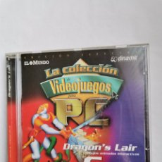Videojuegos y Consolas: DRAGON'S LAIR DIBUJOS ANIMADOS INTERACTIVOS DIGITAL LEISURE DINAMIC PC VINTAGE. Lote 245620445