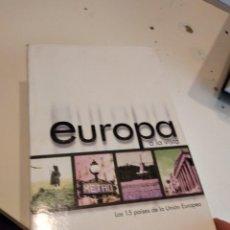 Videojuegos y Consolas: M-14 EUROPA A LA VISTA. LOS 15 PAISES DE LA UNION EUROPEA. DIARIO ABC. COLECCION COMPLETA 12 PC CD. Lote 245952130