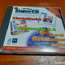 Videojuegos y Consolas: PC PLUS SUPERCD. SEPTIEMBRE 1997. CD-ROM CON PROGRAMAS DIFERENTES. BUEN ESTADO. EN CAJA. Lote 246124430