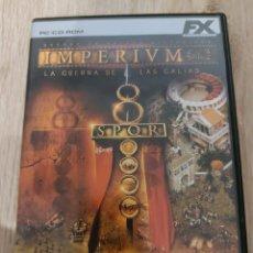 Videojuegos y Consolas: VIDEOJUEGOS IMPERIUM I E IMPERIUM II. Lote 246225680