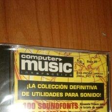 Videojuegos y Consolas: COMPUTER MUSIC INTERACTIVO, UTILIDADES PARA SONIDO, PRECINTADO. Lote 246351845