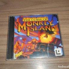 Videojuegos y Consolas: THE CURSE OF MONKEY ISLAND JUEGO PC PAL ESPAÑA. Lote 246474930