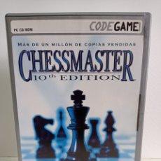 Videojuegos y Consolas: JUEGO DE AJEDREZ CHESSMASTER / 10TH EDICION - 2004 / CONTIENE TRES CD / COMO NUEVO.. Lote 246482615