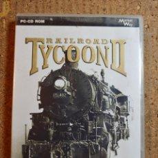 Videogiochi e Consoli: JUEGO PC RAILROAD TYCOON II EL JUEGO DE TRENES PARA LOS AMANTES DE LA ESTRETEGIA. Lote 247362290