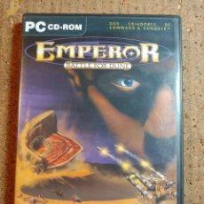 Videogiochi e Consoli: JUEGO PC EMPEROR BATTLE FOR DUNE CONTIENE 4 CDS Y LIBRO DE INSTRUCCIONES. Lote 247365870